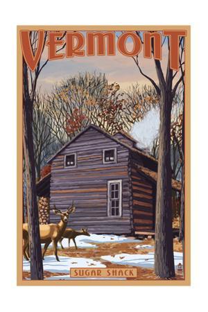 Vermont - Sugar Shack by Lantern Press