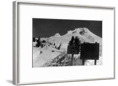 View of the Timberline Ski Lift - Mt. Hood, OR