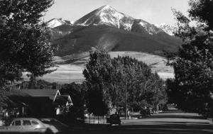 View of the Vista of Mt Baldy - Livingston, MT by Lantern Press