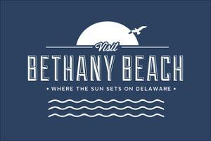 Visit Bethany Beach - Where the Sun Sets on Delaware by Lantern Press