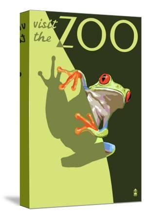 Visit the Zoo, Tree Frog Scene