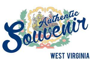 Visited West Virginia - Authentic Souvenir by Lantern Press