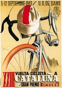 Volta Ciclista a Catalunya, 1943 by Lantern Press