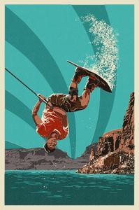 Wakeboarder by Lantern Press