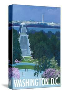 Washington DC, Arlington National Cemetery by Lantern Press