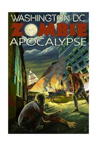 Washington, DC - Zombie Apocalypse by Lantern Press