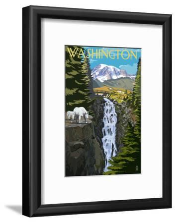 Washington - Mountain Goats and Falls