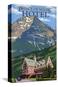 Waterton National Park, Canada - Prince of Wales Hotel by Lantern Press