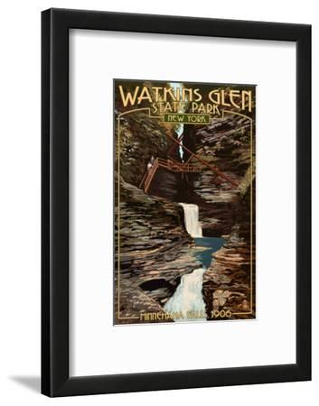 Watkins Glen State Park, New York - Minnehaha Falls