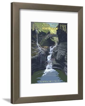 Watkins Glen State Park, New York - Rainbow Falls