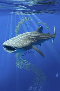 Whale Shark by Lantern Press