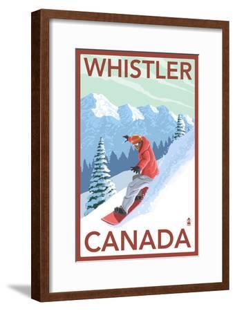 Whistler, Canada - Snowboarder