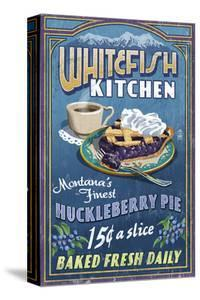 Whitefish, Montana - Huckleberry by Lantern Press