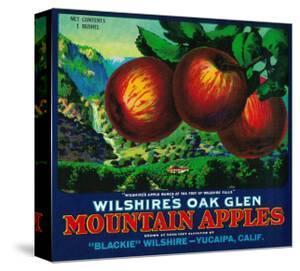 Wilshire's Oak Glen Apple Crate Label - Yucaipa, CA by Lantern Press