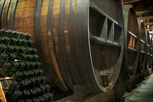 Wine Barrels by Lantern Press