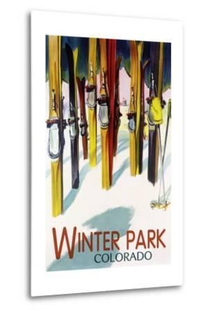 Winter Park, Colorado - Colorful Skis