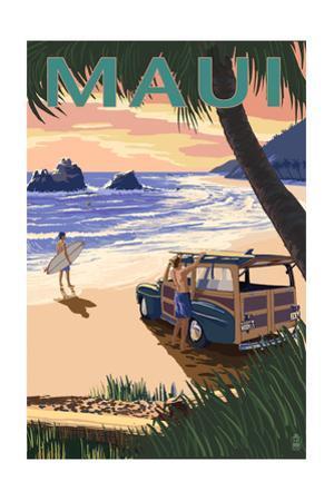 Woody and Beach - Maui, Hawaii