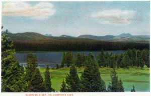 Yellowstone Nat'l Park, Wyoming - Sleeping Giant Scene by Lantern Press