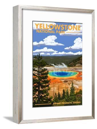 Yellowstone National Park - Grand Prismatic Spring