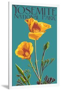 Yosemite National Park, California - Poppy by Lantern Press