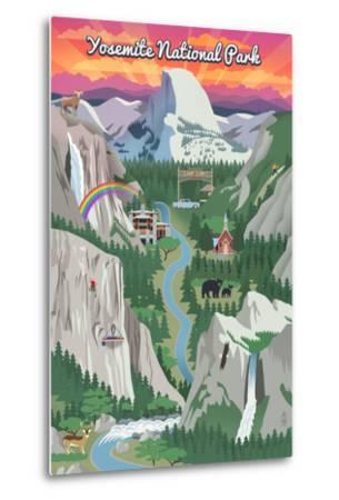 Yosemite National Park, California - Retro Views
