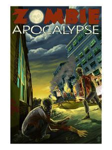 Zombie Apocalypse by Lantern Press