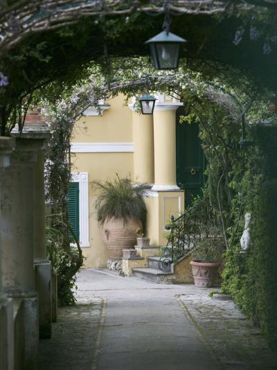 Lanterns Hanging in a Garden, Capri, Naples, Campania, Italy--Photographic Print