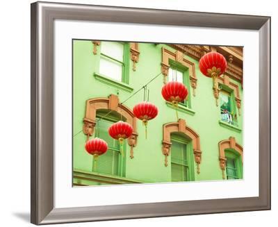 Lanterns In The Wind-Sonja Quintero-Framed Photographic Print