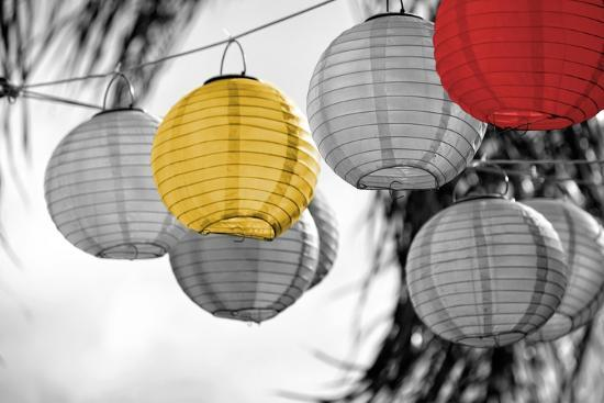 Lanterns-Gail Peck-Art Print