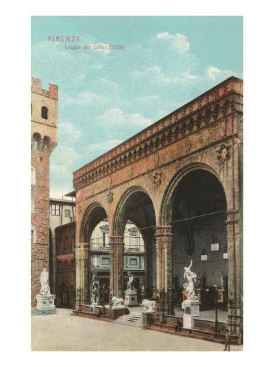 Lanzi Loggia, Florence, Italy--Art Print