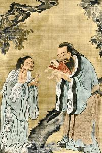 Lao-Tse, Confucius And Buddha