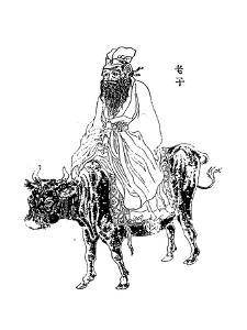 Lao-Tzu, Ancient Chinese Philosopher and Inspiration of Taoism, Late 19th Century