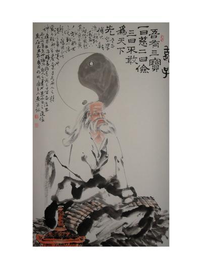 Laozi--Giclee Print