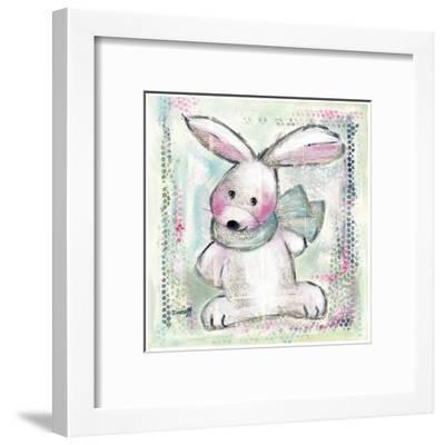 Lapin Vert-Joelle Wolff-Framed Art Print
