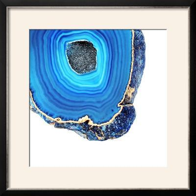 Lapis Lazuli Agate A--Framed Photographic Print