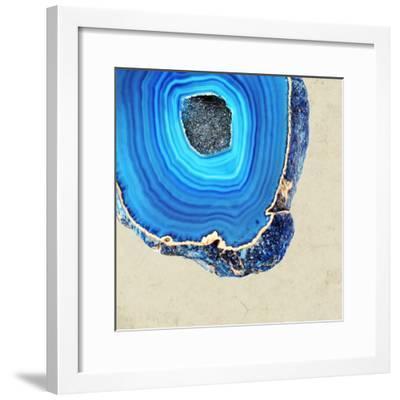 Lapis Lazuli Agate B--Framed Premium Photographic Print