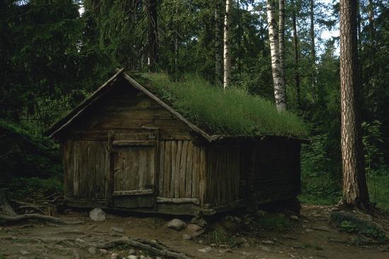 Lapland hut-Unknown-Photographic Print