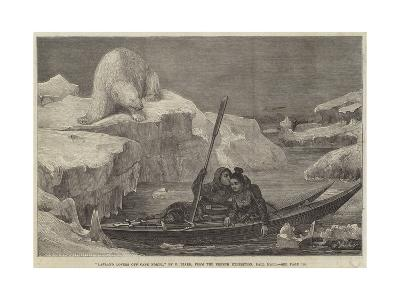 Lapland Lovers Off Cape North-Francois Auguste Biard-Giclee Print