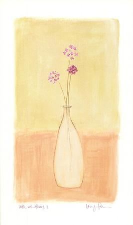 Bottle With Flowers l