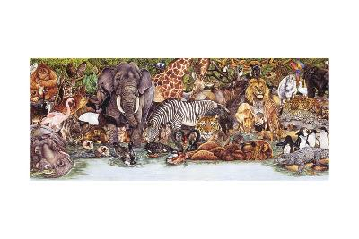 Large Group of Animals-Wendy Edelson-Giclee Print
