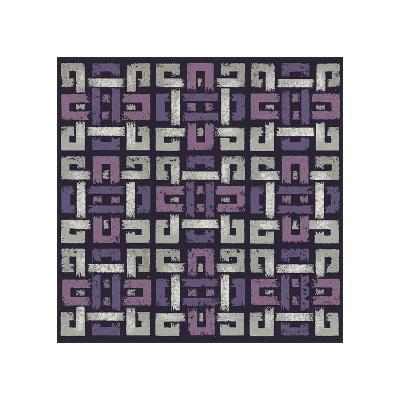 Large Knotted Weave (Purple)-Susan Clickner-Giclee Print