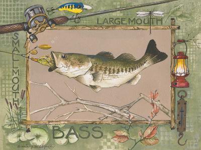 Large Mouth Bass-Anita Phillips-Art Print