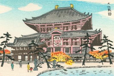 Large Pagoda--Art Print