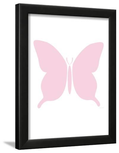 Large Pink Butterfly-Avalisa-Framed Art Print