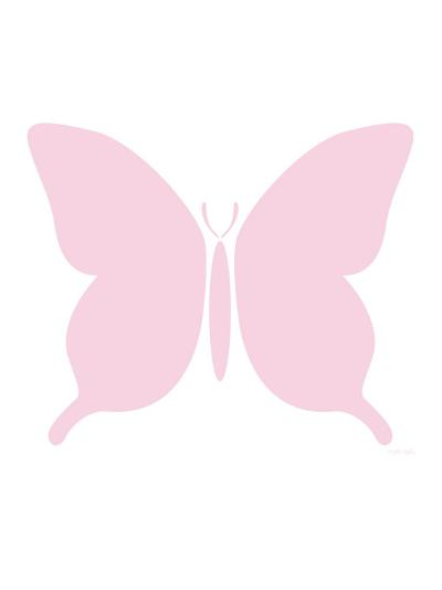 Large Pink Butterfly-Avalisa-Art Print