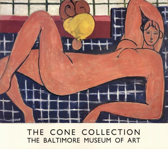 Large Reclining Nude-Henri Matisse-Collectable Print