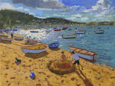 Large Sandcastle,Teignmouth, 2013-Andrew Macara-Giclee Print