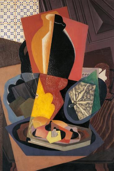 Large Still Life with a Pumpkin-Gino Severini-Giclee Print