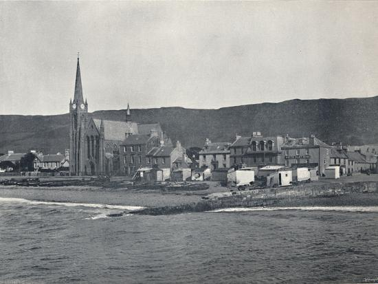 'Largs - From the Sea', 1895-Unknown-Photographic Print