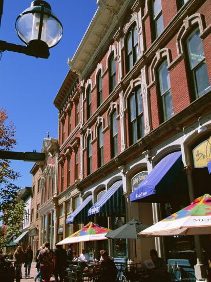 Larimer Square, Denver, Colorado, USA-Jean Brooks-Photographic Print